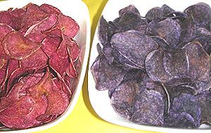 farbige chips aus der vakuumfriteuse foodaktuell. Black Bedroom Furniture Sets. Home Design Ideas