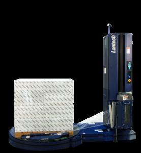 Der halbautomatische Stretchwickler QL-400 verfügt erstmals über eine intelligente Steuerung. (© Lantech)